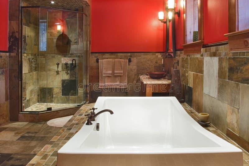 De badkamers van de droom stock afbeelding