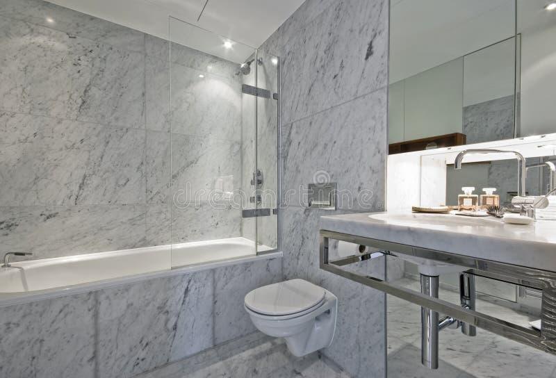 De badkamers van de luxe stock foto's