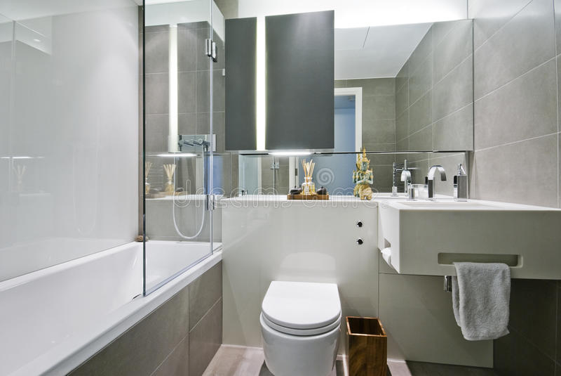 De badkamers van de luxe met Indische decoratie royalty-vrije stock foto