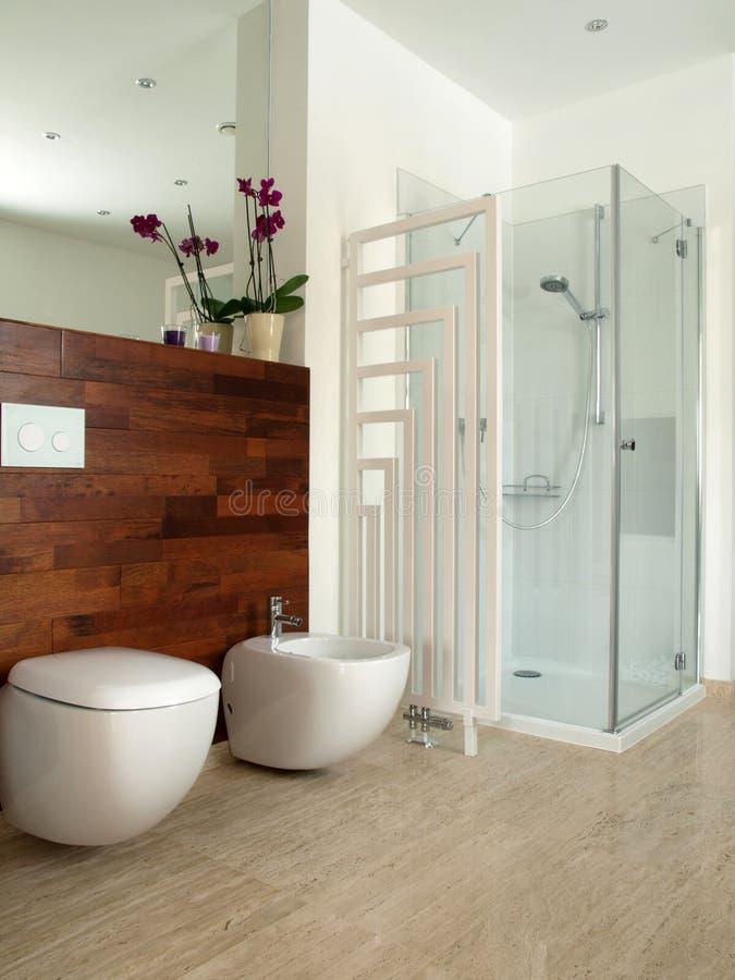 De badkamers van ontwerpers royalty-vrije stock afbeeldingen