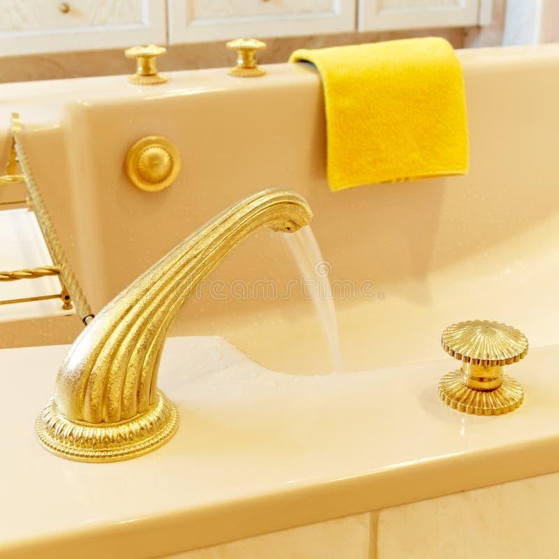 De badkuip van de luxe royalty-vrije stock afbeelding
