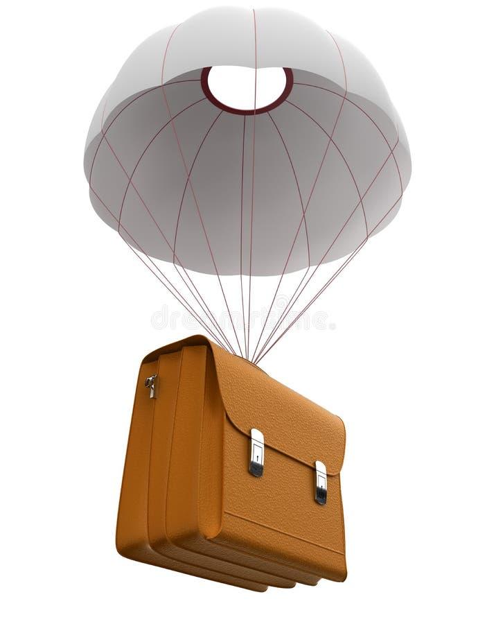 De bagage van de levering stock afbeelding