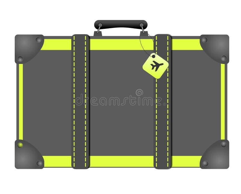 De bagage van de reiszak stock fotografie