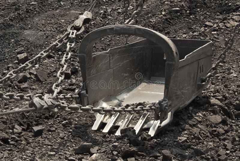 De baggermachine stock foto's