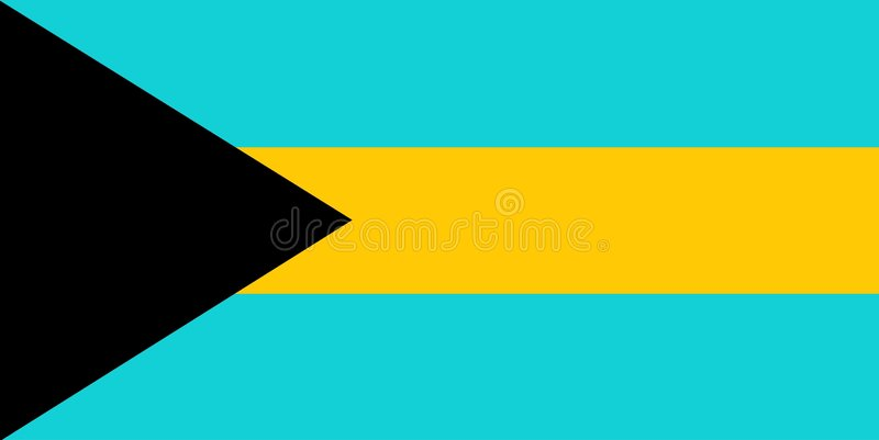 De Bahamas vector illustratie