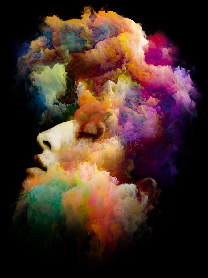 Ofde baiser Palette interne illustration de vecteur