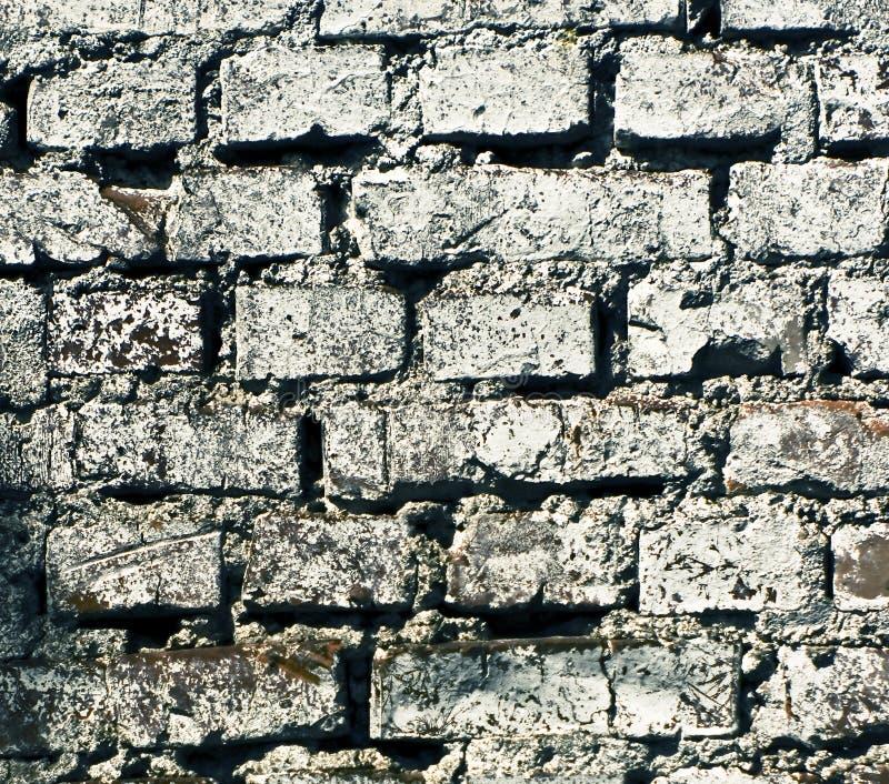 De baksteentextuur van Grunge royalty-vrije stock foto