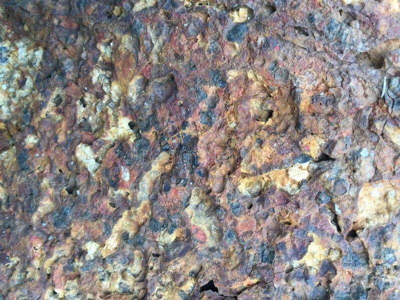 De bakstenen muurachtergrond van de steen royalty-vrije stock foto