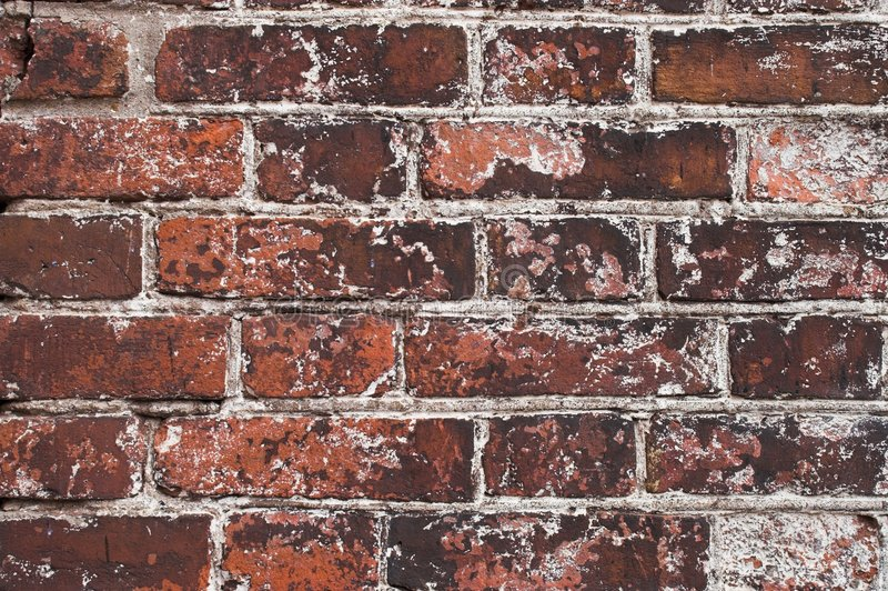 De bakstenen van materialen stock afbeelding