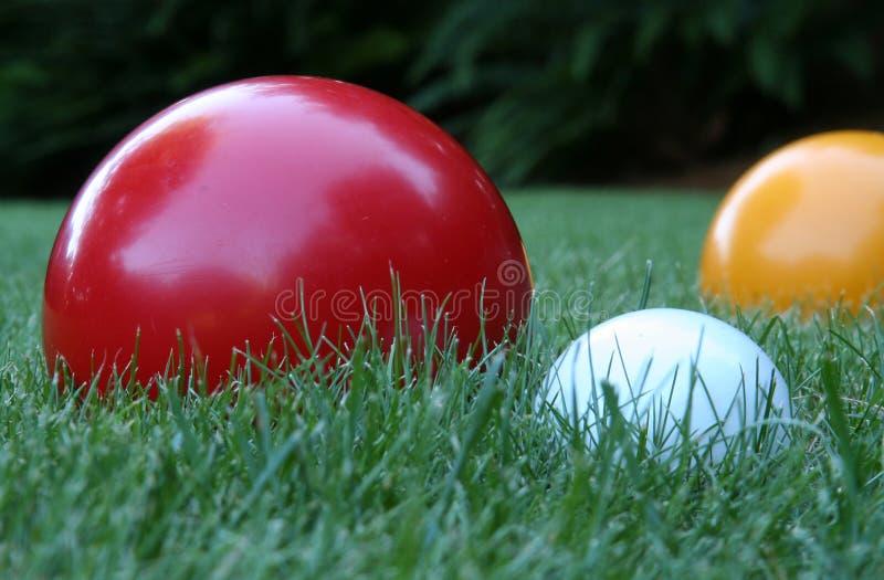 De bal van Bocce royalty-vrije stock foto