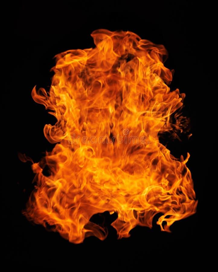 De bal van de brand
