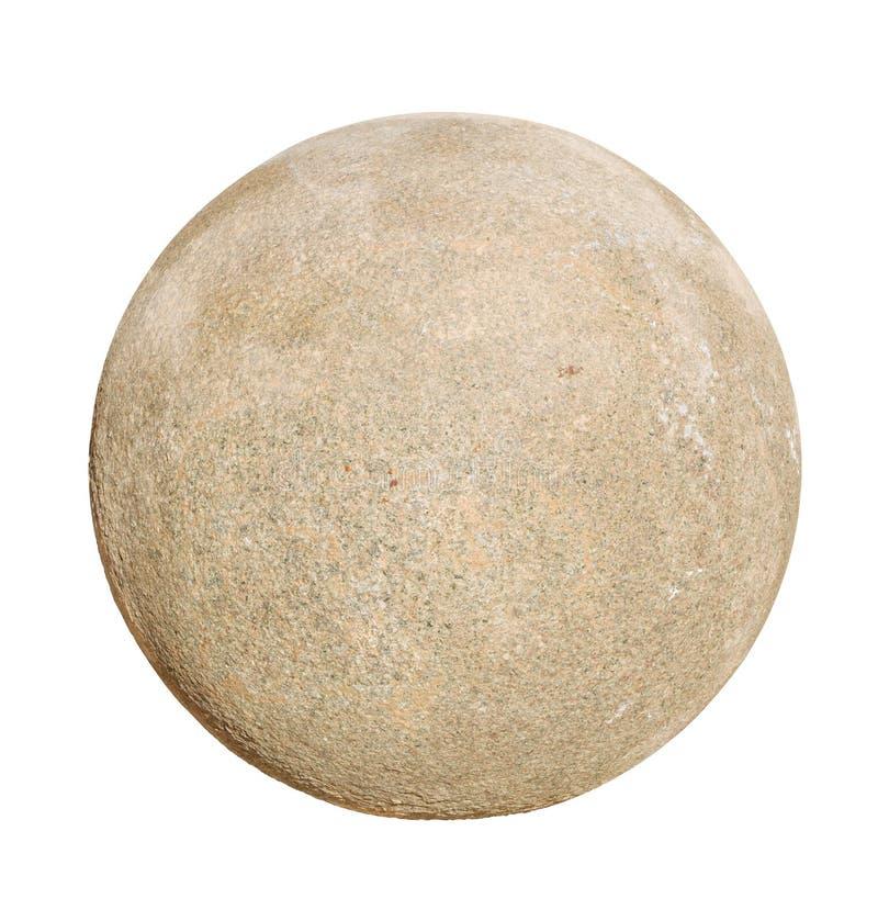De bal van de granietsteen stock afbeeldingen