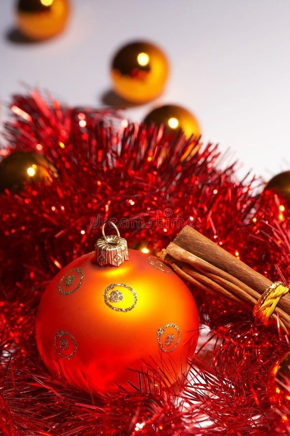 De bal van de kerstboom - weihnachtskugel royalty-vrije stock foto