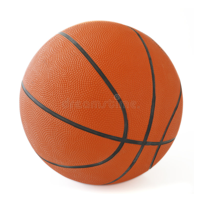 De bal van de mand stock fotografie