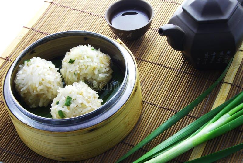 De Bal van de rijst royalty-vrije stock afbeeldingen