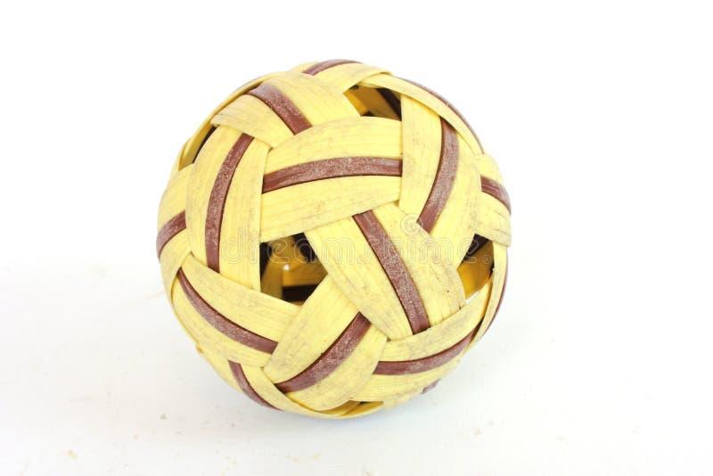 De bal van de rotan stock fotografie