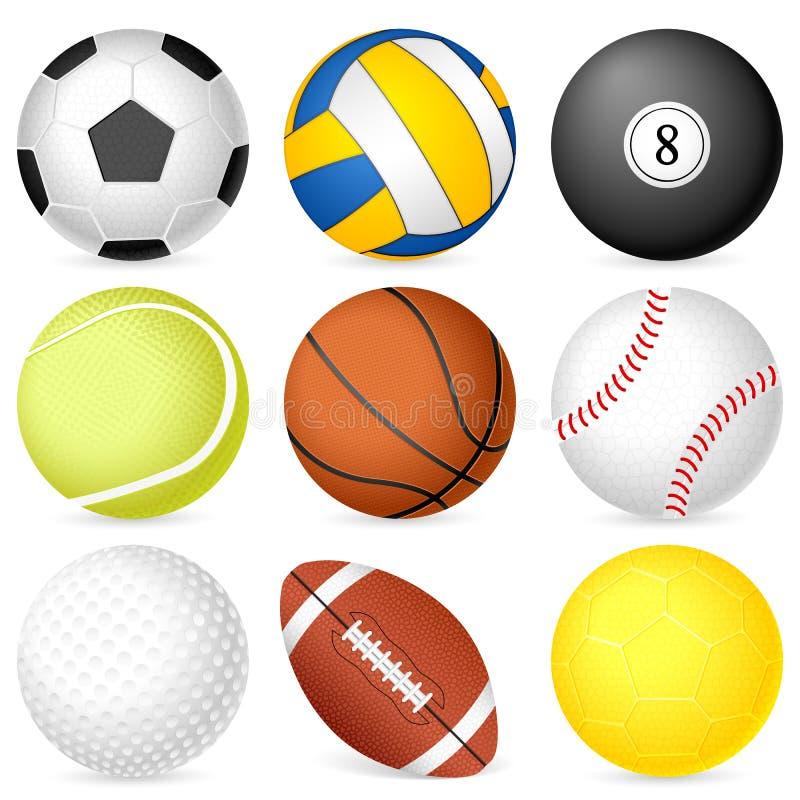 De bal van de sport vector illustratie