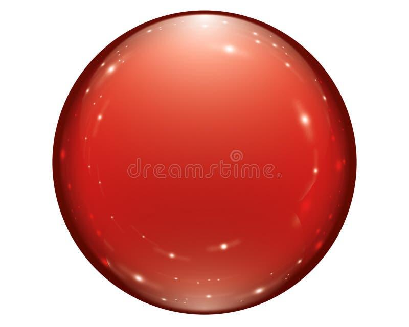De bal van de vakantie stock illustratie