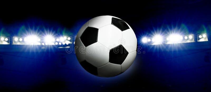De Bal van de voetbal stock afbeeldingen