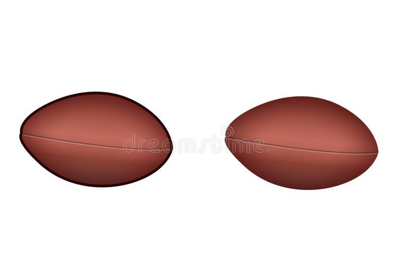 De bal van de voetbal stock foto
