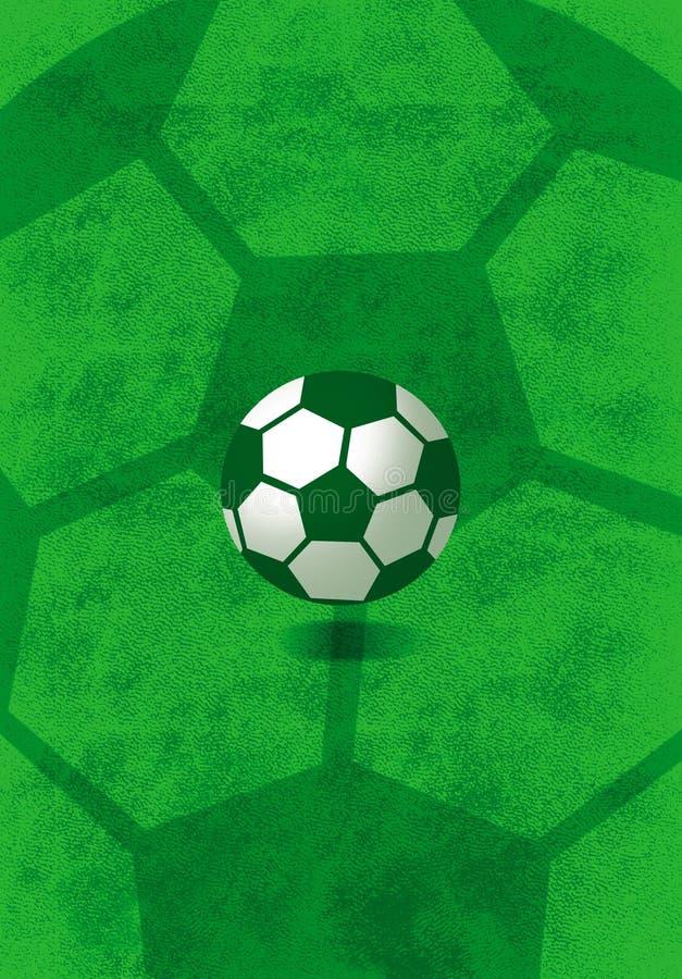 De bal van de voetbal royalty-vrije illustratie