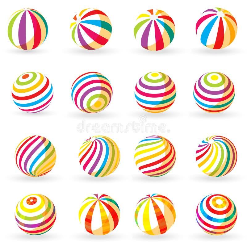 De bal van de zomer vector illustratie