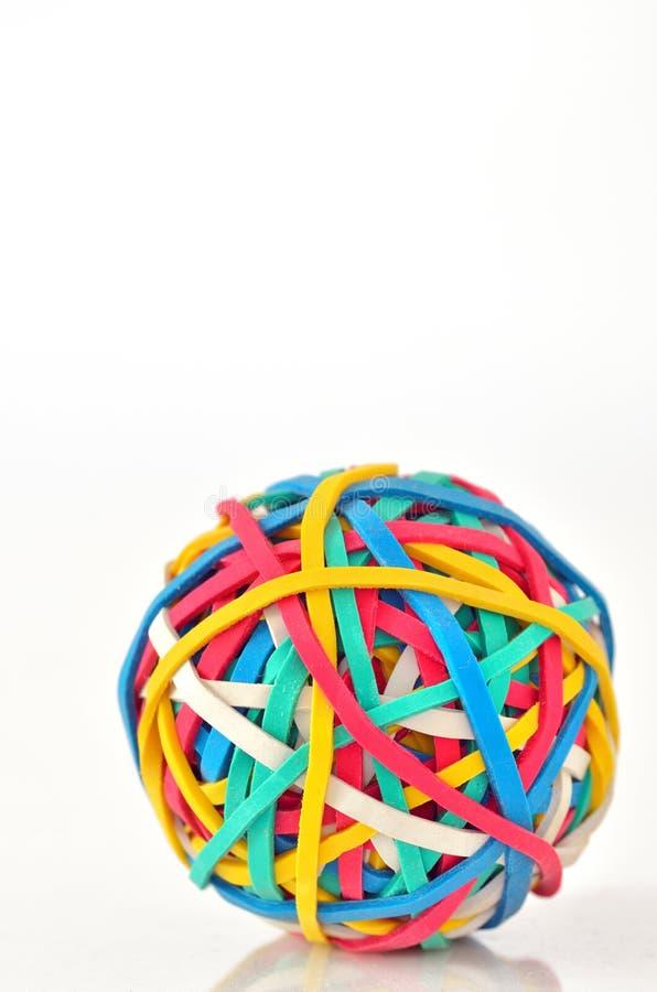 De Bal van het elastiekje royalty-vrije stock afbeeldingen