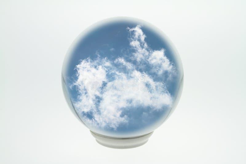 De bal van het glas stock afbeeldingen