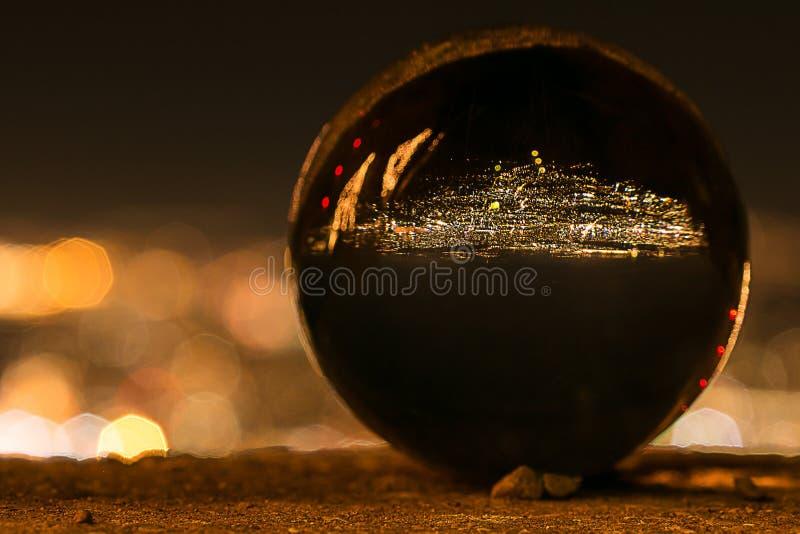 De bal van het glas stock foto's