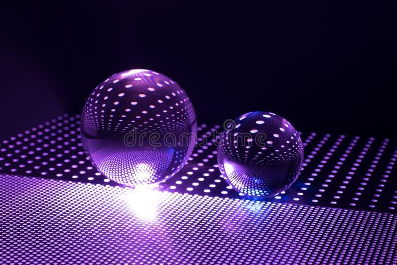 De bal van het kunstglas stock foto