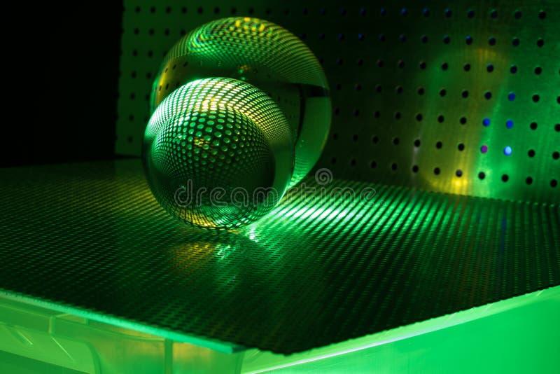 De bal van het kunstglas royalty-vrije stock fotografie