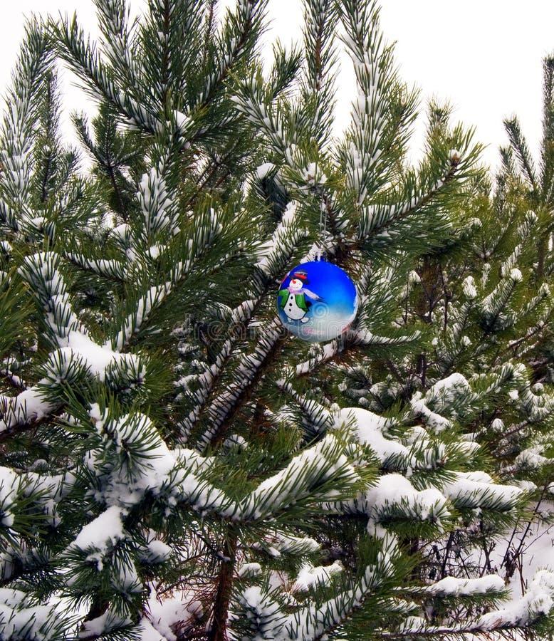 De bal van het nieuwjaar stock foto's