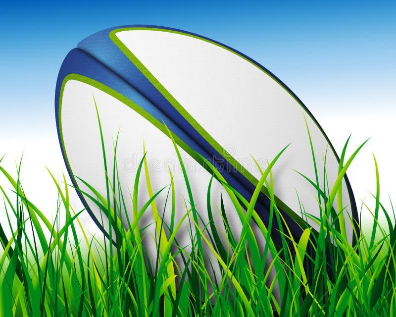 De bal van het rugby royalty-vrije illustratie