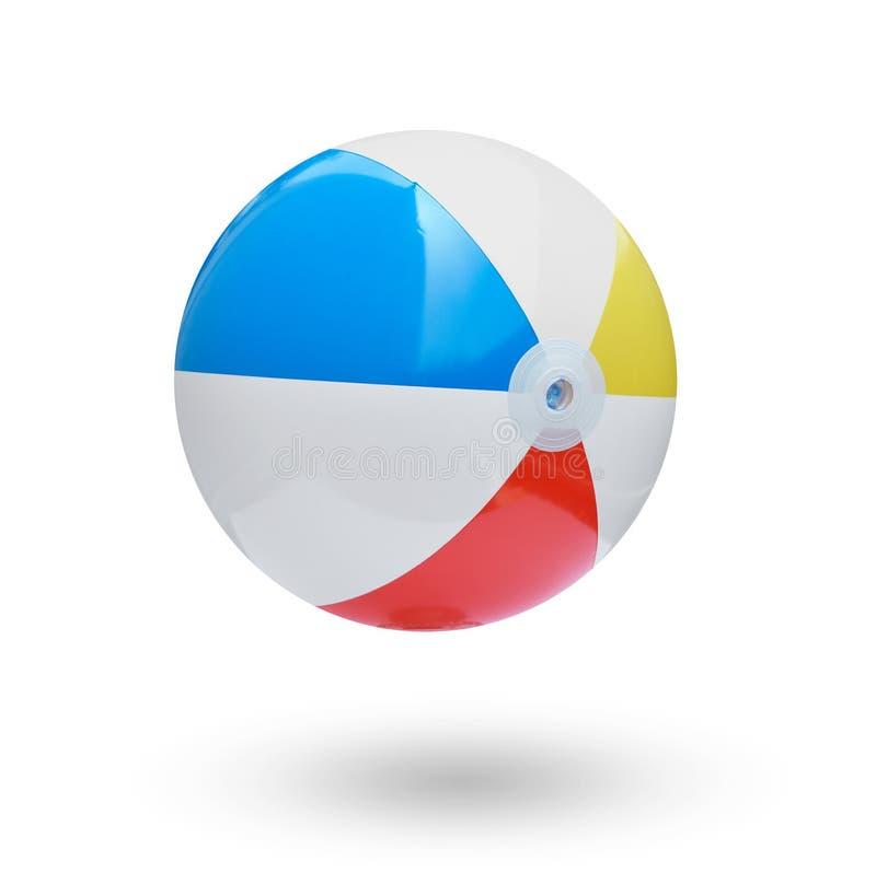 De bal van het strand stock afbeeldingen