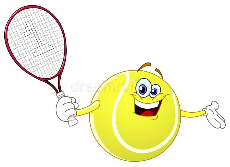 De bal van het tennis vector illustratie