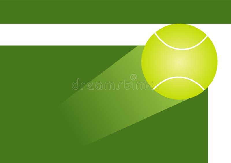 De bal van het tennis stock illustratie