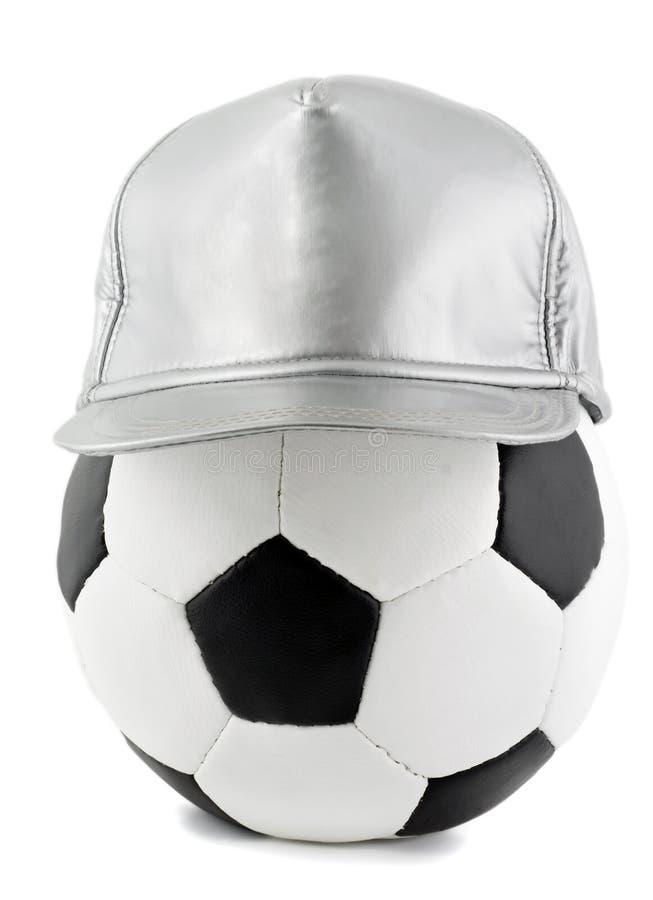 De bal van het voetbal en GLB royalty-vrije stock fotografie