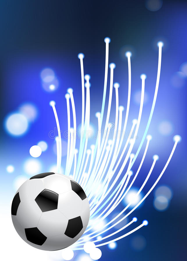 De Bal van het Voetbal van de Kop van de wereld 2010 royalty-vrije illustratie