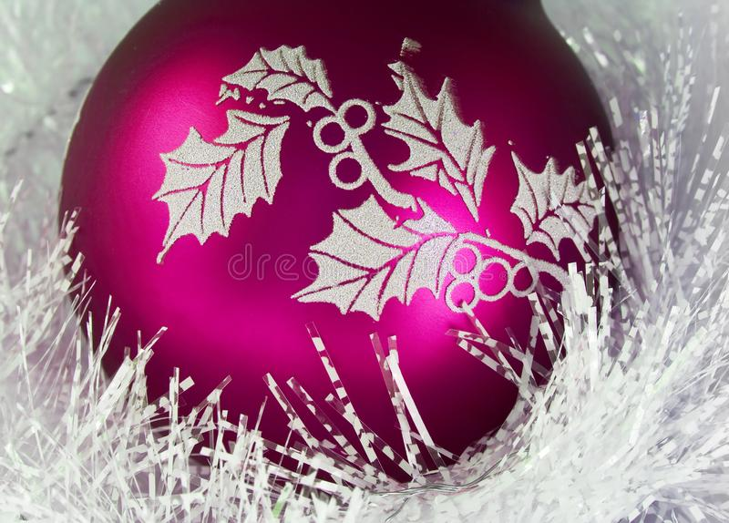 Kerstmisbal Stock Foto's