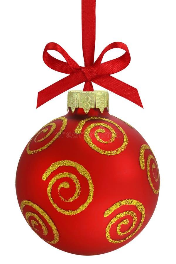 De bal van Kerstmis. stock afbeeldingen