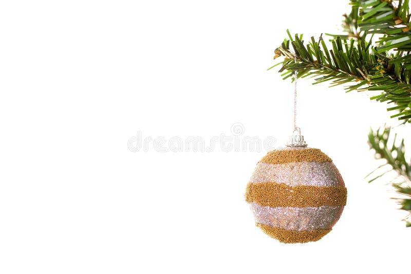 De bal van Kerstmis stock foto's