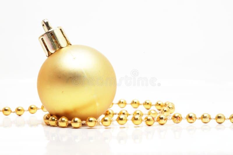 De bal van Kerstmis stock foto