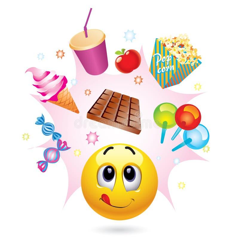 De bal van Smiley vector illustratie