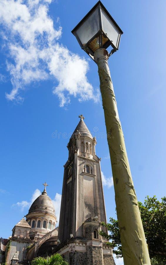 Download De Balatakathedraal, Het Eiland Van Martinique, De Franse Antillen Stock Foto - Afbeelding bestaande uit katholiek, godsdienstig: 107701432