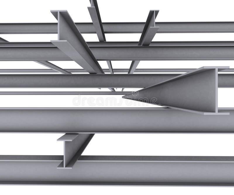 De balk van het staal