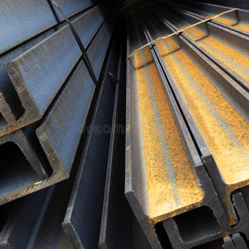 De balken van het staal royalty-vrije stock foto's