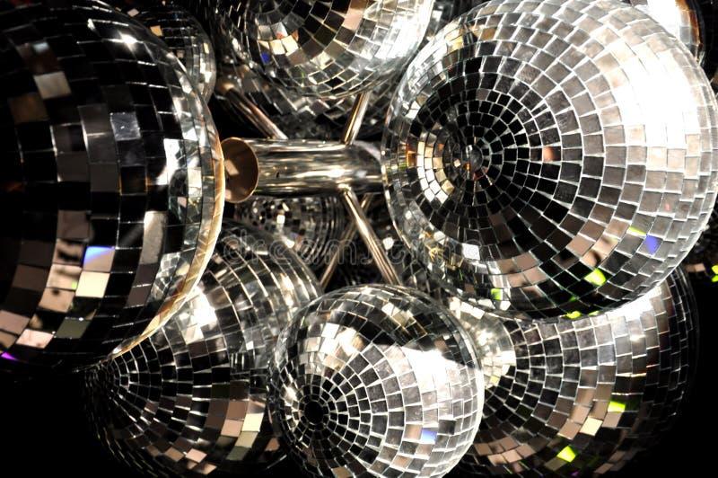 De Ballen van de disco royalty-vrije stock afbeeldingen