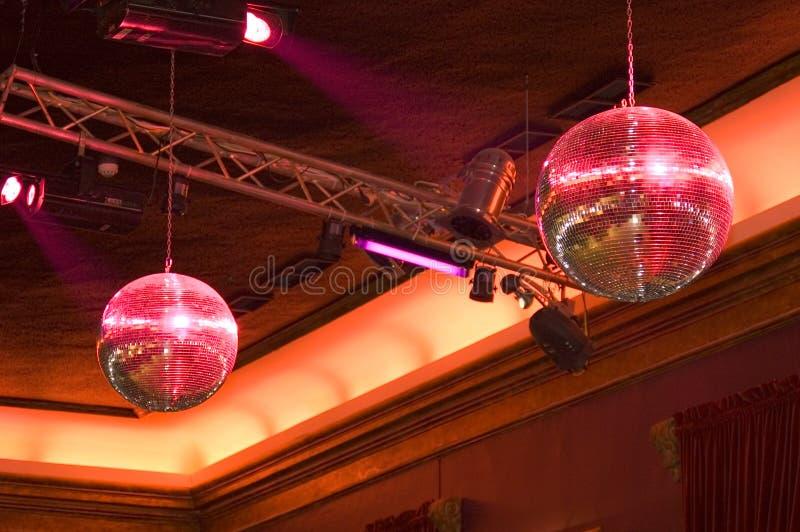 De Ballen Van De Disco Royalty-vrije Stock Afbeelding