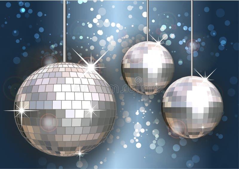 De ballen van de disco stock foto