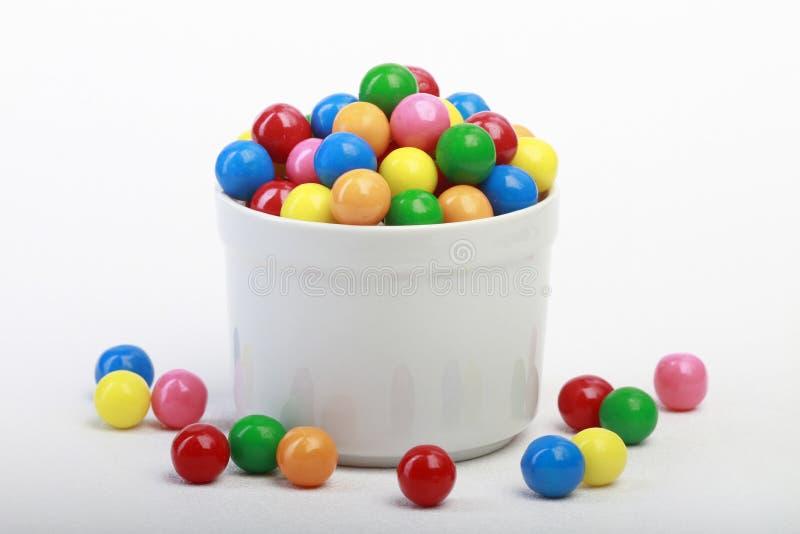 De Ballen van de gom stock afbeeldingen